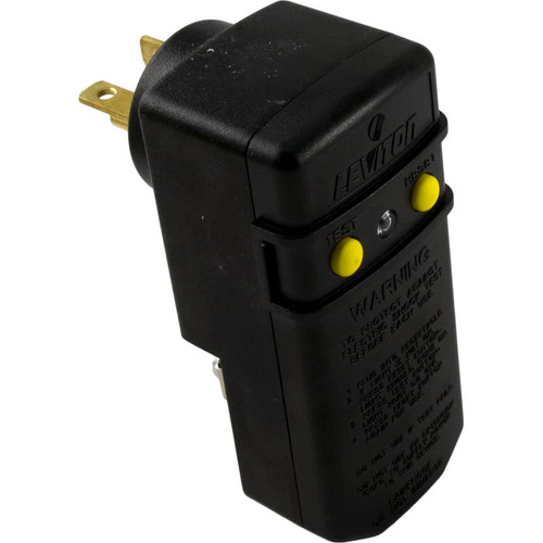 Leviton | GFCI | 20AMPS 110V 90 DEGREE PLUG WITHOUT CORD | 6893