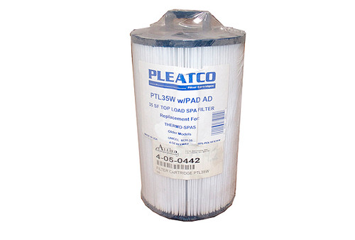 Pleatco | FILTER CARTRIDGE | 35 SQ FT - THERMO SPA | PTL35W