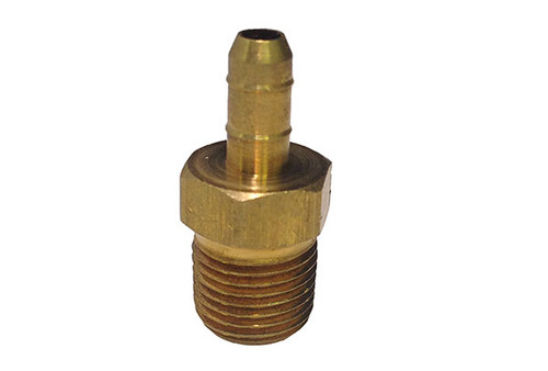 "Allied Innovations | OZONE FITTING | 1/4"" BARB X 1/8"" MPT BRASS 