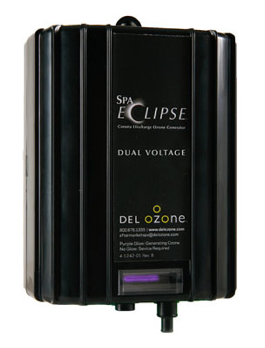 Del Ozone | OZONE GENERATOR | SPA-ECLIPSE CD 220V WITH 4 PIN AMP CORD | ECS-1RPAM-240/60