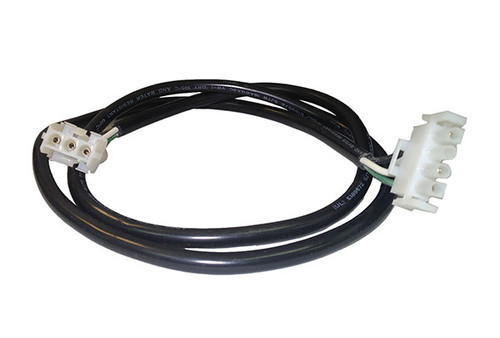 "HydroQuip | CORD ADAPTER | BLOWER 4PIN 48"" AMP TO AMP WHITE 