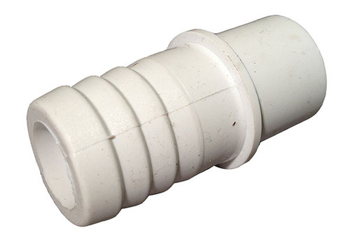 "Waterway | PVC ADAPTER | 1/2"" SPIGOT X 3/4"" RIBBED BARB 