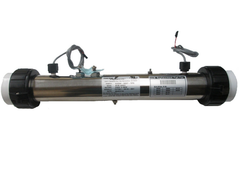 "Thermcore | HEATER ASSEMBLY | 5.5KW, 240V, FLO-THRU, 15-3/4"" X 2"" 