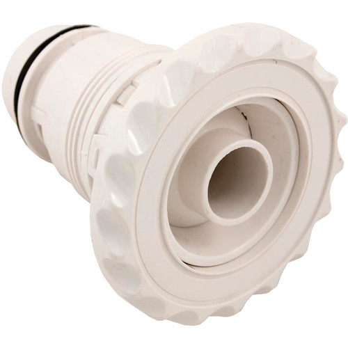 Waterway | JET INTERNAL | DELUXE POLY JET FIXED DIRECTIONAL SCALLOP WHITE | 210-6080