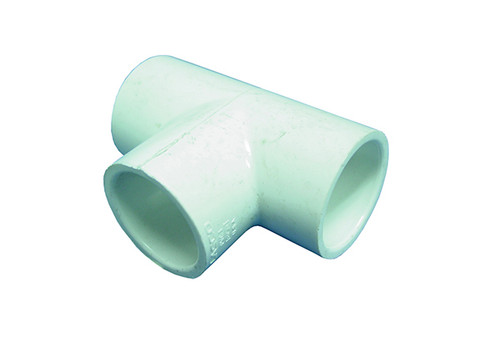 "Waterway | PVC FITTING | TEE 1-1/2"" SLIP X 1-1/2"" SLIP X 1-1/2"" SPIGOT 