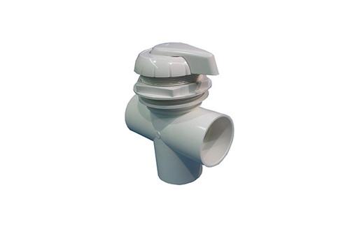 "Balboa Water Group | DIVERTER VALVE | 3-WAY FLOW 2"" SLIP X 2"" SLIP X 2"" SLIP - WHITE | 11-4000WHT"