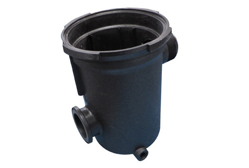 "Waterway | FLO TRAP BODY | 6"" X 2"" BLACK 