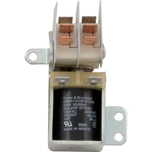 Tyco Electronics | RELAY: S86R 240V DPDT 20A | S86R11A1B1D1-240