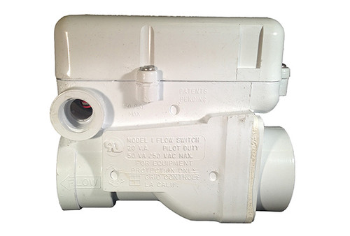 "Grid Controls | FLOW SWITCH | 1-1/2"" PVC SLIP CONNECTION - 1AMP - GRID MODEL 1 