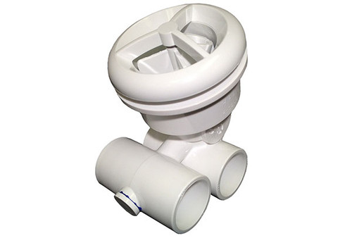 "Balboa Water Group | JET ASSEMBLY | MICROSSAGE 1"" X 1"" WHITE 