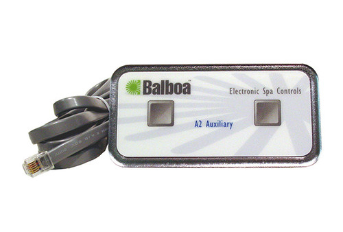 Balboa Water Group | TOPSIDE |  ANALOG DUPLEX - 2-BUTTON - WITH PHONE PLUG CONNECTOR | 51218