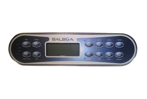 Balboa 52654-01 Topside Control Panel ML900 LCD 12 Button 8' Cord