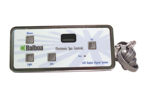 Balboa Water Group | TOPSIDE | DUPLEX DIGITAL LCD VL402 WITH PHONE PLUG CONNECTOR | 54093