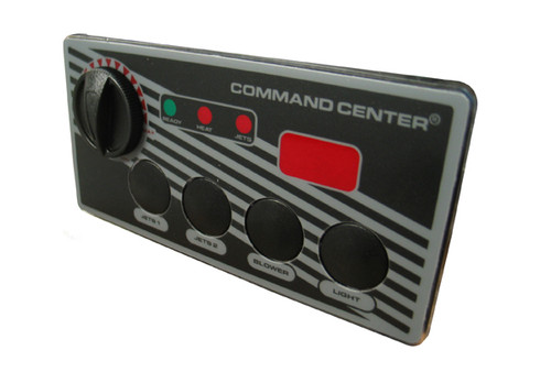 Tecmark (TDI) | TOPSIDE | COMMAND CENTER - 4-BUTTON - 120V - 10' - DIGITAL DISPLAY | CC4D-120-10-1-00