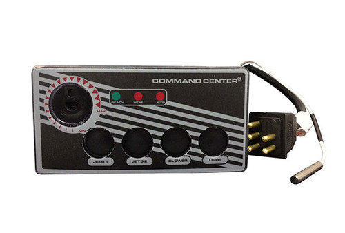 Tecmark (TDI) | TOPSIDE | COMMAND CENTER - 4-BUTTON - 120V - 10' - WITHOUT DIGITAL DISPLAY | CC4-120-10-1-00