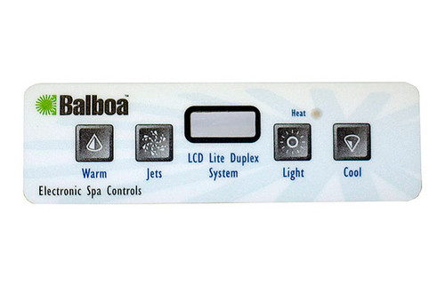 Balboa Water Group | OVERLAY | BWG E4 LCD RETRO | 11853
