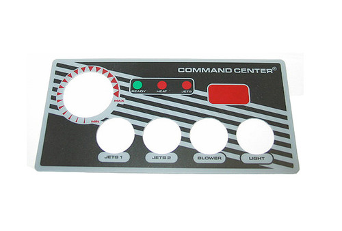 Tecmark (TDI) | OVERLAY | COMMAND CENTER - 4-BUTTON - WITH DISPLAY | 30191BM