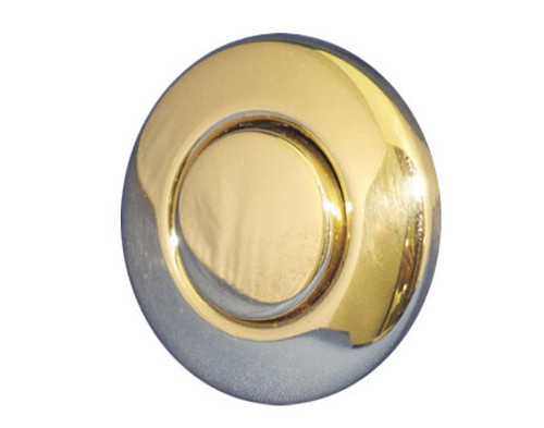 Len Gordon | AIR BUTTON TRIM | #15 CLASSIC TOUCH, TRIM KIT, POLISHED BRASS | 951741-000