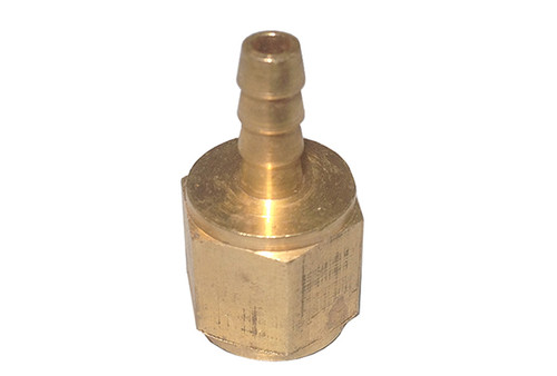 "Len Gordon | BARB FITTING | 1/8""FIP X 1/8""NPT BRASS 