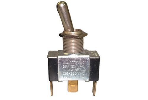 TOGGLE SWITCH | 20AMP - SPDT - METAL - CENTER OFF | 5-40-0004