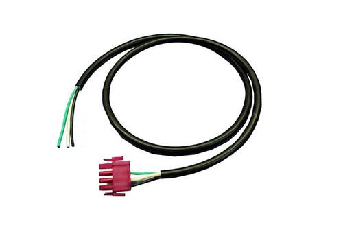 "Spa Builders | AMP PLUG | CIRC PUMP - 4 PIN 16/3 X 36"" FUCHSIA | 5-50-0136"