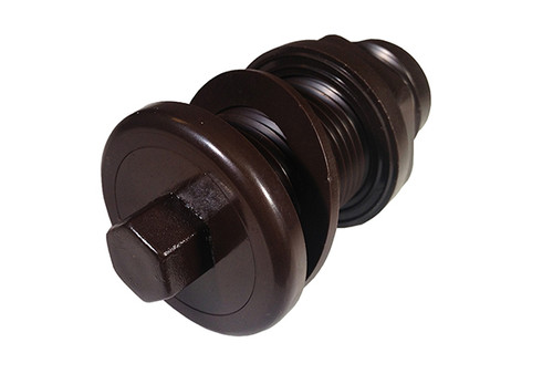 Len Gordon | AIR BUTTON | #4 LITE TOUCH, BROWN | 950404-000