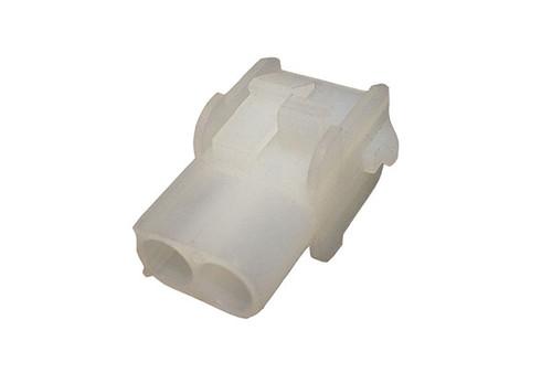 Allied Innovations | AMP SOCKET | MATE-N-LOCK 2 PIN WHITE | 35-0022