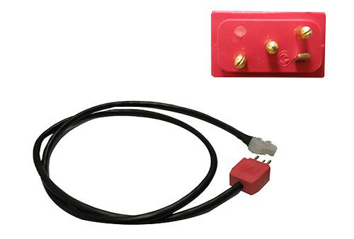 "Spa Builders | CORD ADAPTER | PUMP 1 AMP RECEPTACLE TO MJJ PLUG 36"" | 5-60-6031MJJAMP"