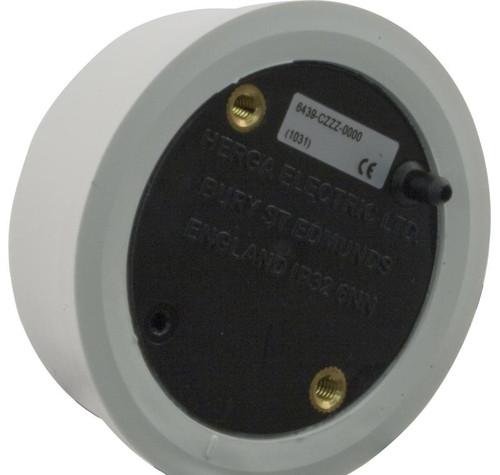 Herga Electric | Mushroom Button, Flat Mount, White (no tubing) | 59-345-1505