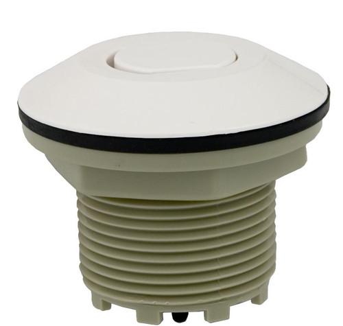 Pres Air Trol | Contemporary Flush Button, White | B225-WF