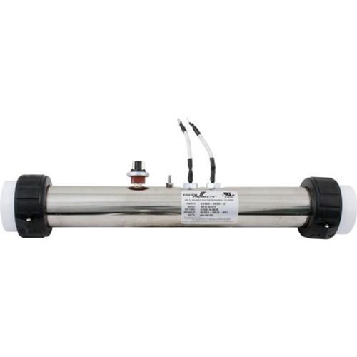 "Therm Products | Flo Thru Heater 4.0KW/240V 2.25""x15"", Gecko S-Class | C2400-0800-2"