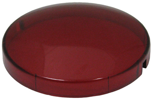 "Allied Innovations | RED LENS FOR 2 1/2"" HOLE SIZE 3 3/8"" LENS DIAMETER 