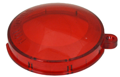 FIBERSTARS | Lens cover, snap-on plastic, Red | FPAL-LR