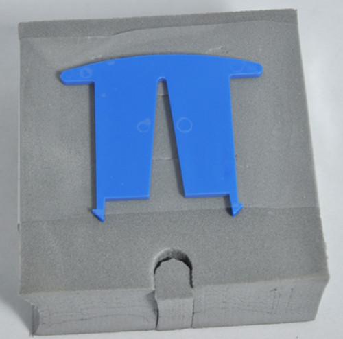 "AQUA PRODUCTS | FOAM BLOCK (w/ GRAY Tape, 4"" Square Float) | 3109"
