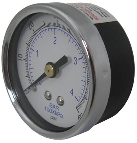 "Pentair 33600-0023 Pressure Gauge 0-60 1/4"" NPT"