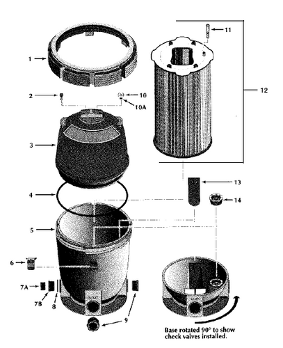 PENTAIR   SYSTEM BASE PRIOR TO 2009   27001-0031