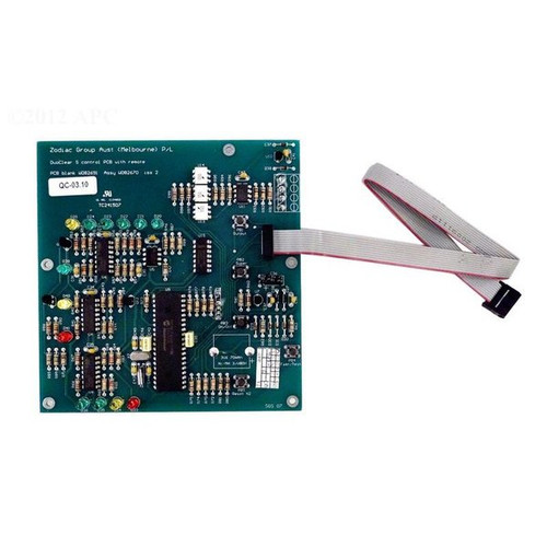 Zodiac Duoclear S Control PCB Assembly | W082670
