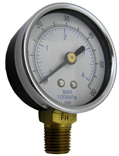 "Sta-Rite 15060-00007 Pressure Gauge 0-60 1/4"" NPT"