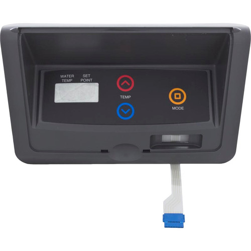 RAYPAK | CONTROL BEZEL WITH SWITCH DECAL, IID | 009491F