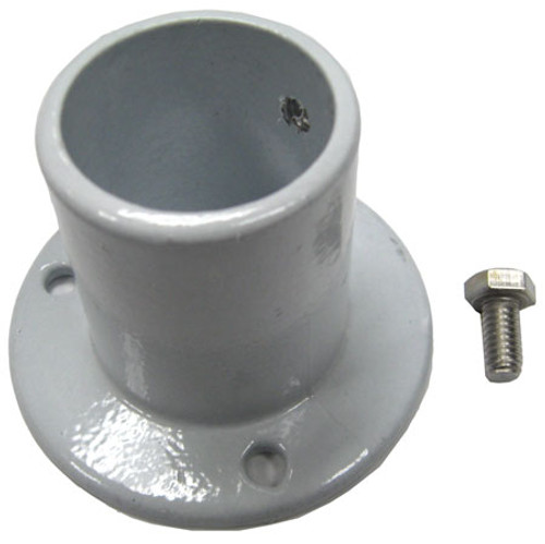 "Perma-Cast PF-2115-L Aluminum Deck Flange for Above Ground 1.5"" Diameter Rail"