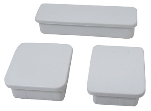 G. L. I. PRODUCTS | FENCE TRIM KIT INCLUDES: (1) POST CAP, (1) BASE SUPPORT CAP, (1) SUPPORT CAP, (2) HOLE PLUGS | 4300436