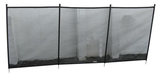 G.L.I. Products | FENCE SECTION, 4 X 10 DESIGNER BLACK | 4300500