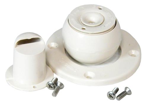 Sta-Rite Inlet Faceplate Kit White | 08428-0001