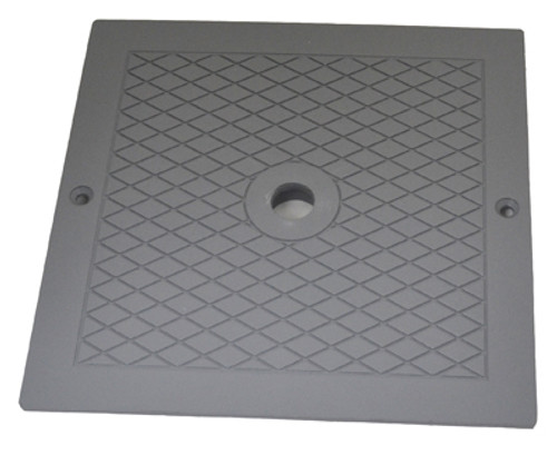 CUSTOM MOLDED PRODUCTS | SQUARE SKIMMER COVER, GRAY | 25538-001-000