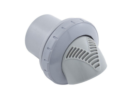 "Infusion Venturi Return, Light Gray 1-1/2"" Insider Glue Inlet 