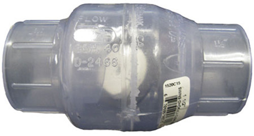 FLO CONTROL | CLEAR PVC | 1520C-15