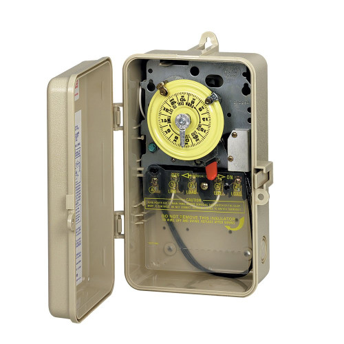 INTERMATIC   24-HOUR, 120V SPST, W/ FIREMAN'S SWITCH   T101P201