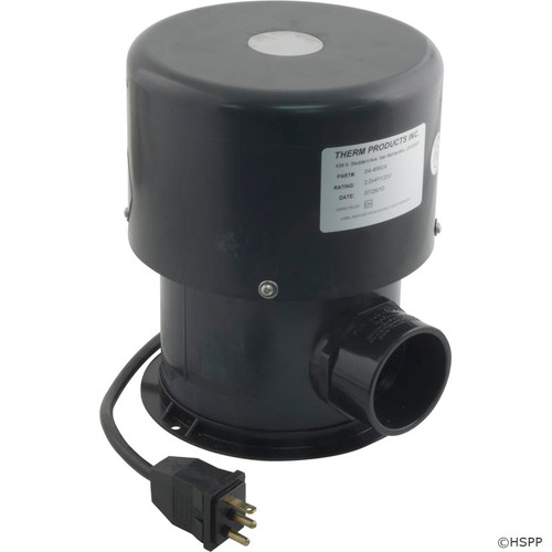 Blower, Therm Products 450, 2.0hp, 230v, Molded Cord