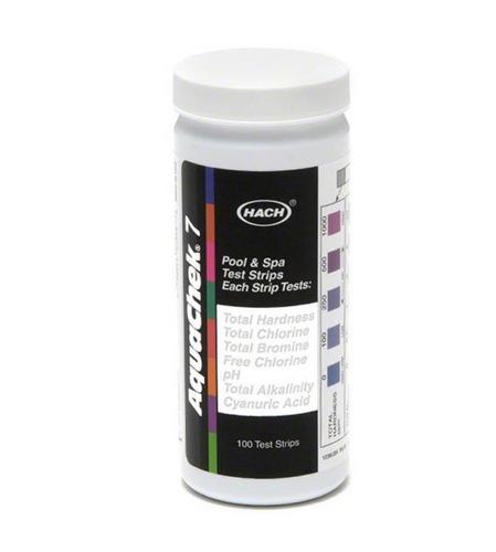 AquaChek Silver 7-Way - 100 Strips | AC551236