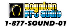 BoyntonProAudioHoliday